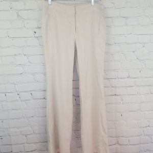White House Black Market linen wide leg pants